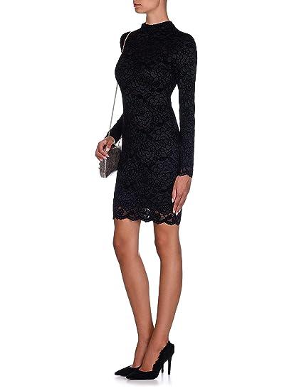 Guess Floral Pattern Lace Dress Women Black Tg Xs Amazonco