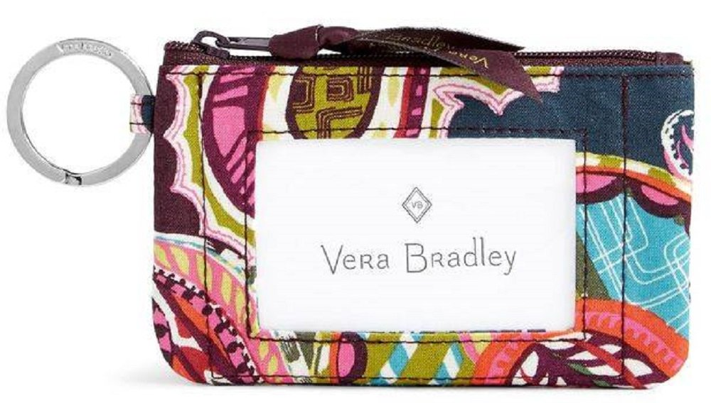 Vera Bradley Zip ID Case in Heirloom Paisley by Vera Bradley (Image #1)