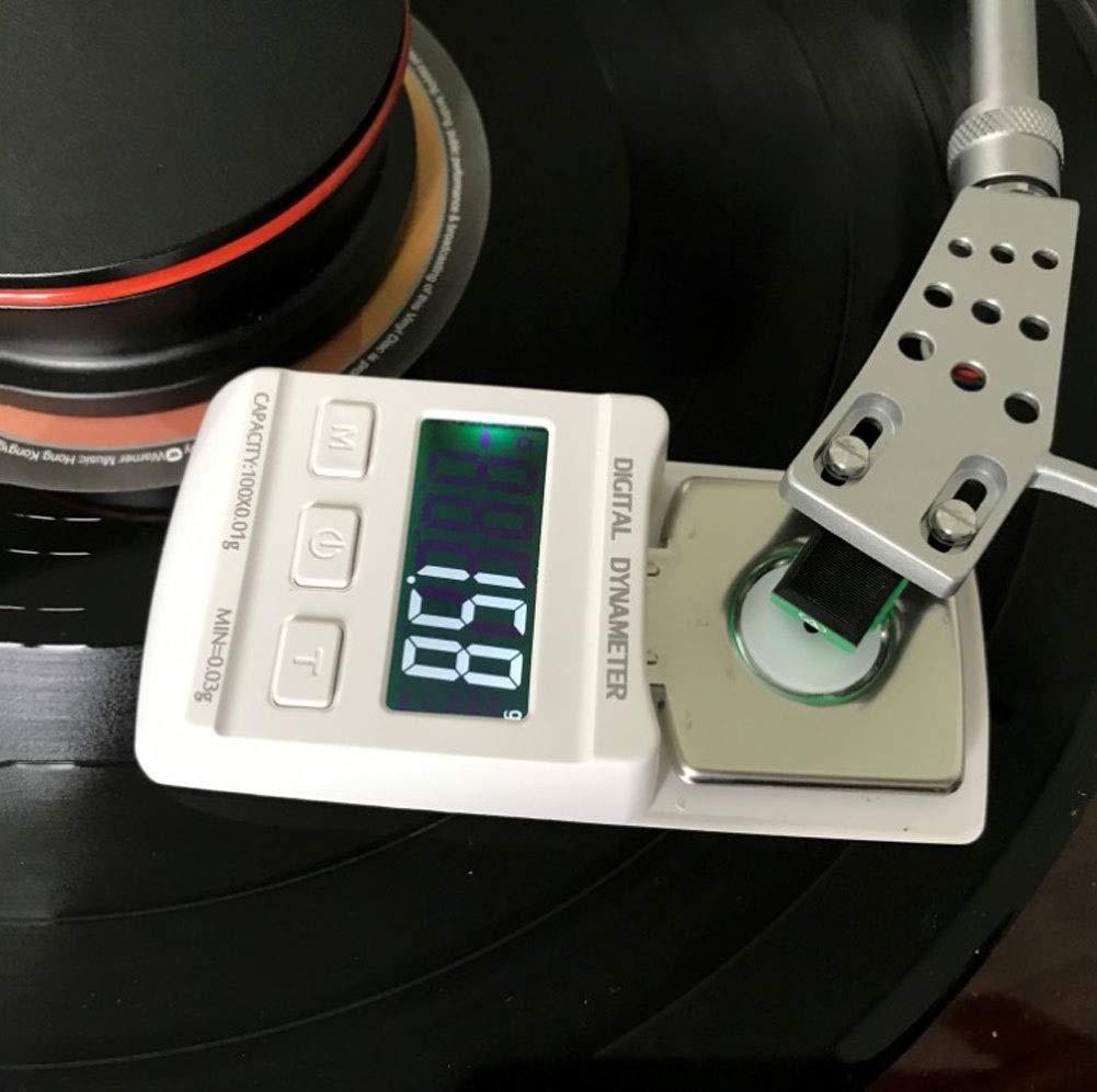 ZCY Digital Tocadiscos Stylus Básculas De Fuerza, Medidor De ...