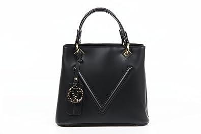 4f54d24b24 Versace 19.69 Abbigliamento Sportivo Srl Ladies Handbag V004 RUGA BLACK