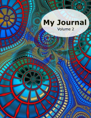 """My Journal - Volume 2: 50 Writing Prompts for Kids - Write / Draw / Fill-In - 100 Pages - Feelings Journal - Thinking Journal - Large 8.5"""" X 11"""" - Fractal Design Cover ebook"""
