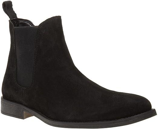 Amazon.com: Sole Fleet Mens Boots Black