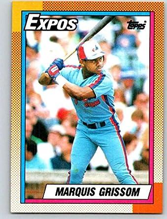 67b3dfb6a0e Amazon.com  1990 Topps  714 Marquis Grissom Mint Baseball MLB RC ...