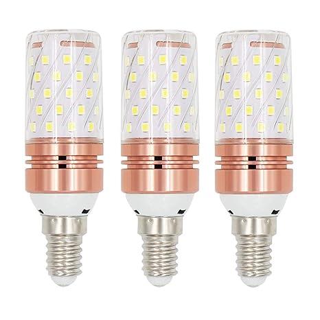 EEFUN E14 Bombilla LED - 12W / 1200LM, Rosca Edison pequeña (SES),