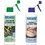 Nikwax Footwear Cleaning Gel and Proofer 300ml