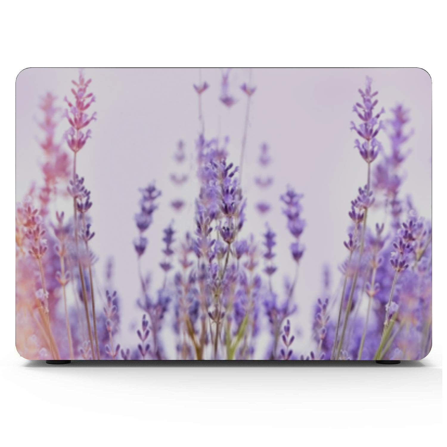 Mac Air Laptop Case Spring Colorful Beautiful Wild Flowers Plastic Hard Shell Compatible Mac Air 11 Pro 13 15 Cover MacBook Air 13 Protection for MacBook 2016-2019 Version