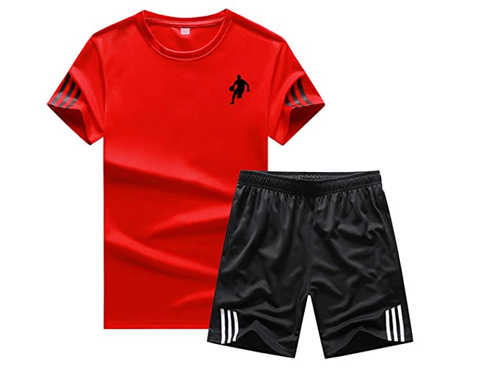 Hilization Mens Two Piece Jogging Jacket and Pants Zip-Up Athletic Sweatsuit Outfit Set