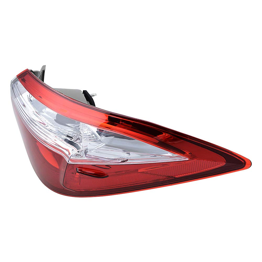 Compatible with 2014-2016 Toyota Corolla Right Passenger Side Rear Tail Light Stop Brake Lamp Cover