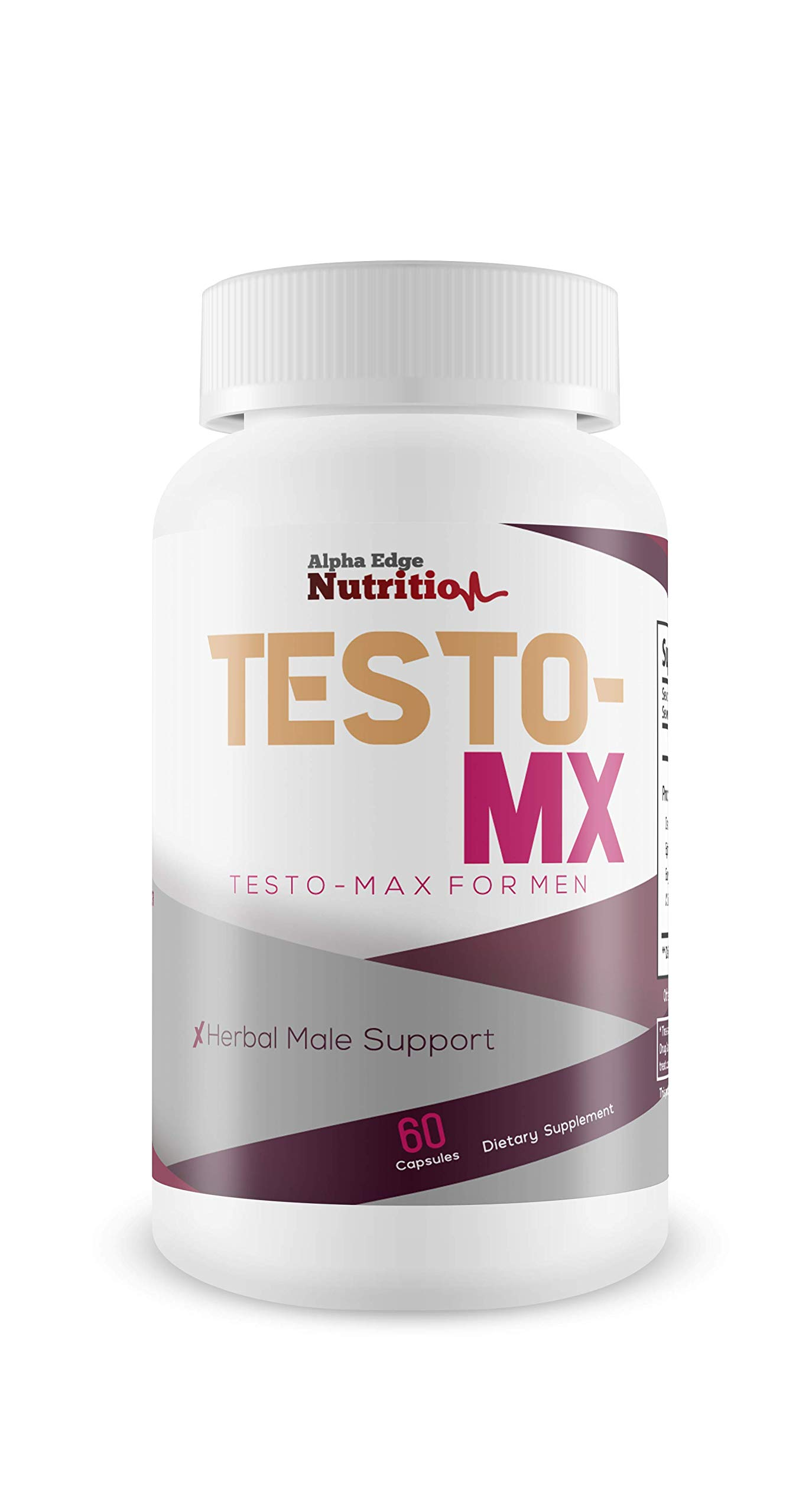Testo MX - Testo Max for Men - Return Energy, Youth, and Vitality - Combat Testosterone Loss with This Herbal Male Blend - Support Increased Testosterone Production with This Powerful Herbal Blend!