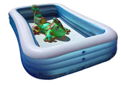 Amazon.com: XL piscina inflable para niños y adultos familia ...