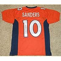 $249 » Emmanuel Sanders Signed Denver Broncos #10 Jersey Sb 50 Champs Autographed Memorabilia - Authentic Signature