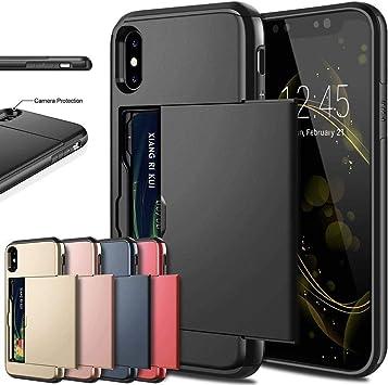 KGLOPYE Funda para telefono movil Estuches para teléfonos móviles para iPhone XR. Fundas para teléfonos móviles, Negras, para iPhone XR: Amazon.es: Electrónica