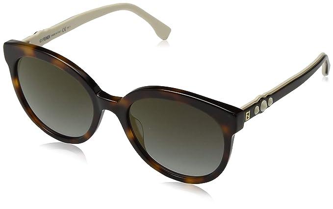 Fendi FF 0268/S FQ 086 56, Gafas de Sol para Mujer, Marrón ...