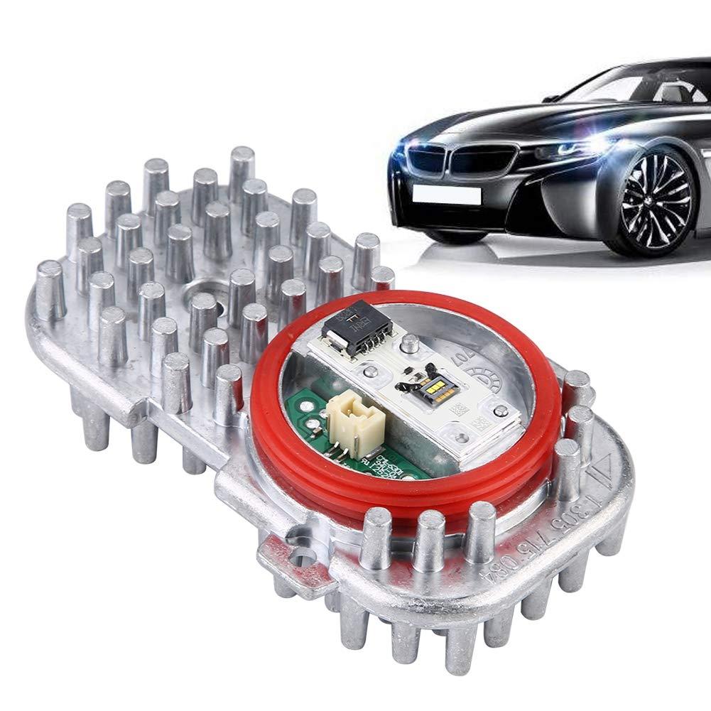 Car Aluminum LED Light Control Unit Module 63117263051 for X5 X3 3 6 Series E92 E93 F06 F12 F13 LED Control Unit