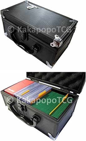 KakapopoTCG Storage Case D3 Silver for Trading Cards TCG Ultra Pro Deck Protecto