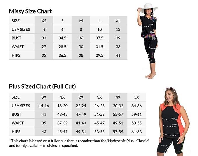b1062b0332e Amazon.com  HydroChic Women s Skirted Swim Capri Pants