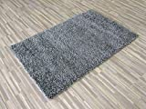 Lexington Home Solid Shaggy Area Rug Long Pile Soft and Cozy Ultra-Comfortable Shag Rug Solid Light Grey 3′ x 5′ Review