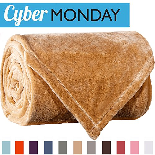 Sonoro Kate Fleece Blanket Soft Warm Fuzzy Plush King Lightw