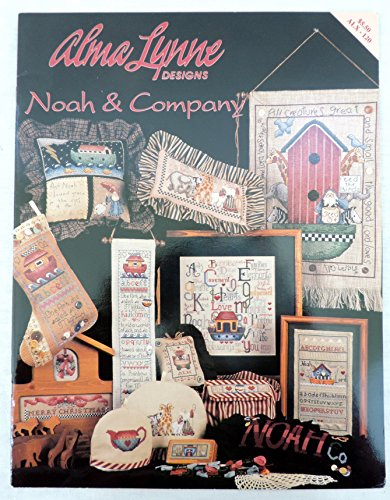 Alma Lynn Designs Noah & Company Counted Cross Stitch Pattern Booklet ALX-120