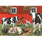 Red Barn Farm 35 Piece Sequenced Jigsaw Puzzle for Dementia and Alzheimer's