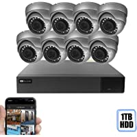 Best Vision 16-Channel 4-in-1 HD 1TB DVR 1080p Security Camera System
