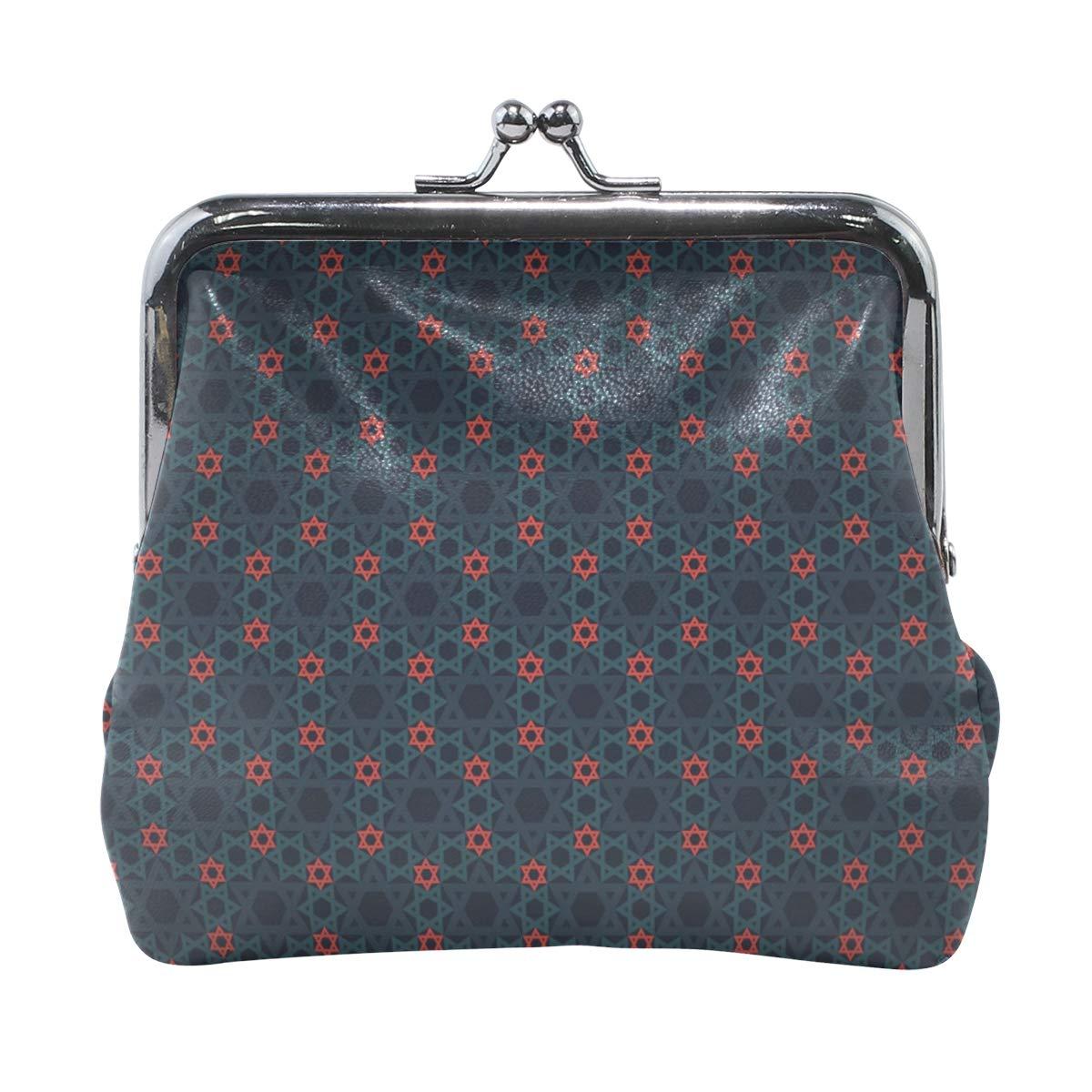 LALATOP Stars Womens Coin Pouch Purse wallet Card Holder Clutch Handbag