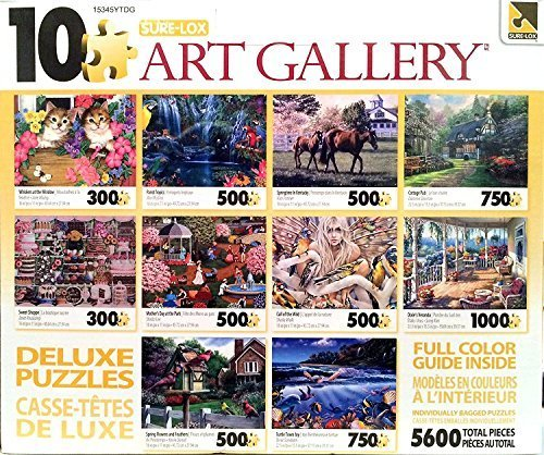 (George Sure-Lox Art Gallery 10 Jigsaw Puzzle Pack)