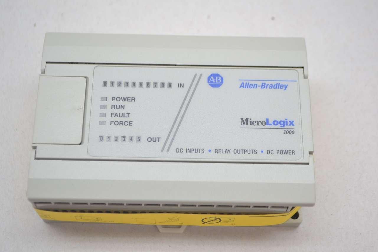 Allen-Bradley 1761-L16BWB MicroLogix 1000 PLC T42910: Amazon.com ...