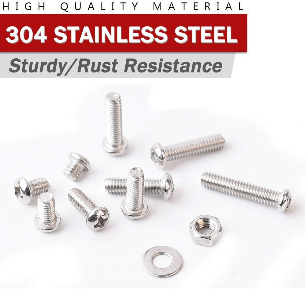 Female 3//8-16 Screw Size Pack of 1 0.625 OD Lyn-Tron Zinc Plated 7.5 Length, Steel
