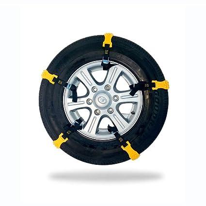 YXMxxm Cadenas de Nieve universales, 10 Piezas de neumáticos Antideslizantes Cadenas de Nieve Cadenas de