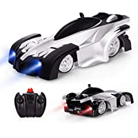 Magicwand® R/C High-Speed Zero-Gravity Wall Climber Car for Kids (Black & White)