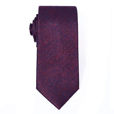 FYDL Corbata de Seda de Color sólido Corbatas para Hombre Corbatas ...