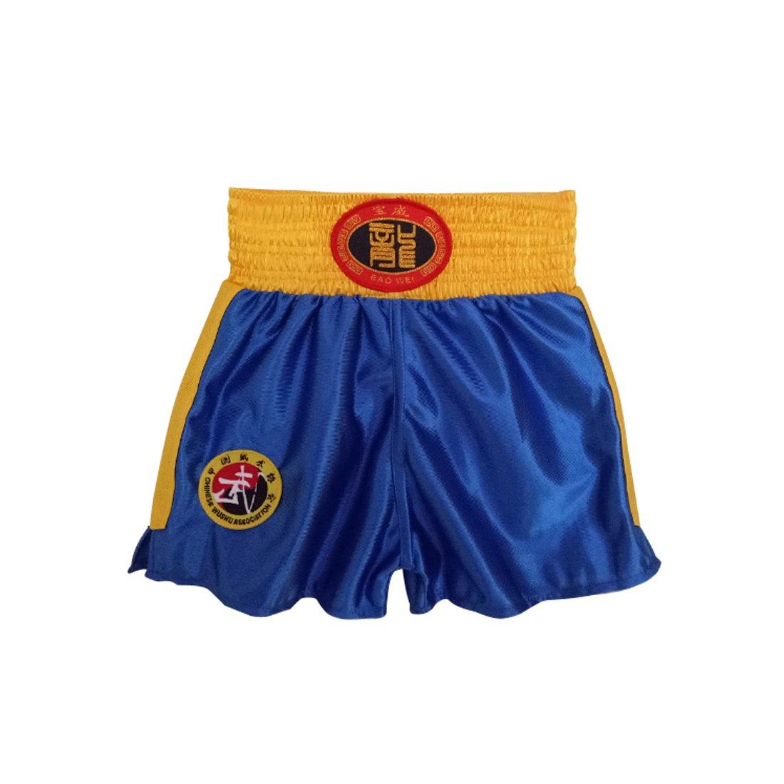 MUCHAO Enfants Sanda V/êtements Gar/çons et Filles Adulte Boxe Boxe Shorts Muay Thai V/êtements Arts Martiaux Formation V/êtements