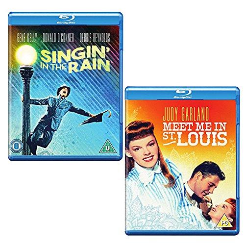 Singin' In The Rain - Meet Me In St. Louis - 2 Movie Bundling Blu-ray
