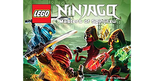 Amazon.com: LEGO NINJAGO: Masters of Spinjitzu: Season 7 ...
