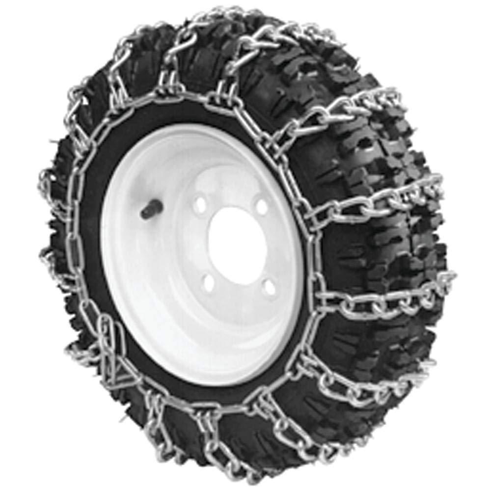 Stens 180-428 2 Link Tire Chain, Black