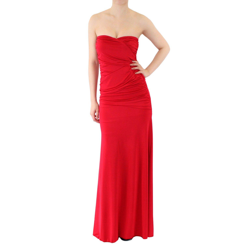 83d0e24e01 Strapless Maxi Dress Formal - Gomes Weine AG