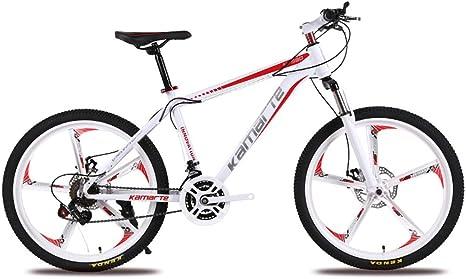 Bicicleta de Montaña Bicicleta de 27 Velocidades, 26 Pulgadas, Ruedas, Doble Suspensión, Bicicleta de Montaña,Red: Amazon.es: Deportes y aire libre
