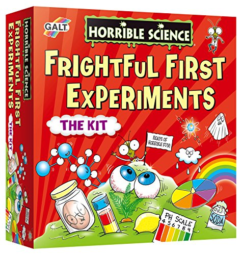 Galt Horrible Science Frightful First Experiments (Experiment Set)