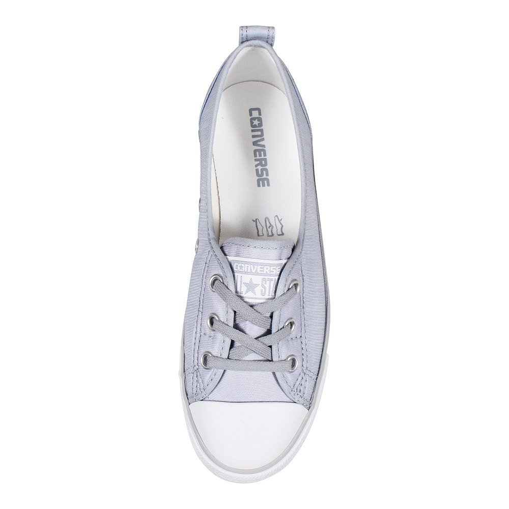 d3de8a1295b9 Converse Chucks Ballerina 555869C Black Dainty All Star Ballet Lace Black  White Mouse  Amazon.co.uk  Shoes   Bags