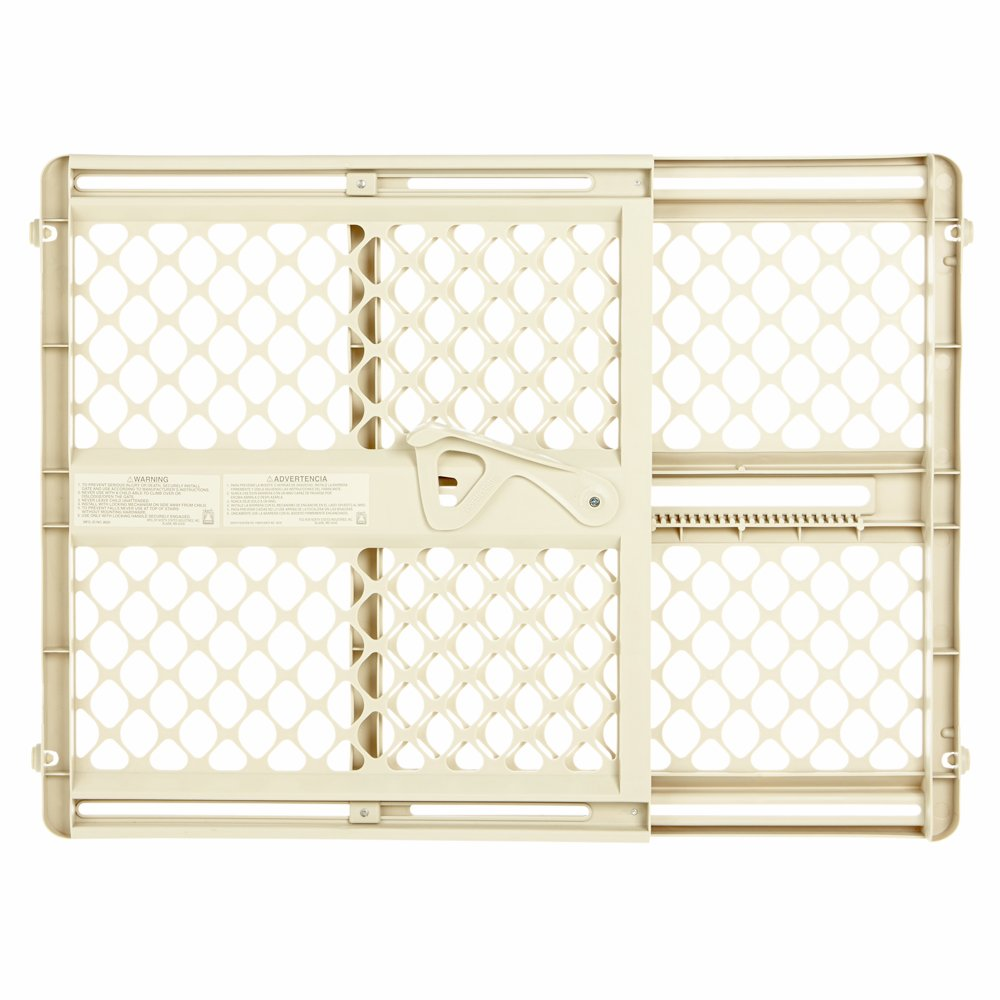 Ergo Pressure or Hardware Mount Plastic Gate Ivory Fits Spaces between 26