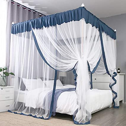 outlet for sale new images of on feet shots of Amazon.com: JQWUPUP Elegant Bed Canopy Curtains, Color ...