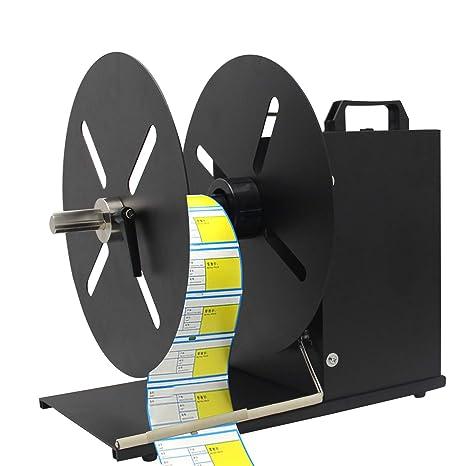 Automatic Label Tag Rewinder Rewinding Machine 6 Width 3 Cores 110V 150mm