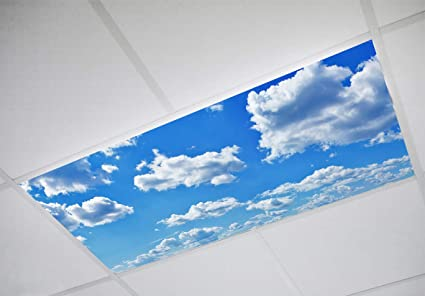 Fluorescent Light Covers >> Cloud 001 Fluorescent Light Filters 2 X4 High Pixel Light Covers