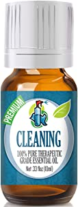 Cleaning Blend Essential Oil - 100% Pure Therapeutic Grade Cleaning Blend Oil - 10ml