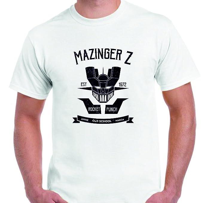 DrMugCollection Camiseta Mazinger Z Old School UQ6AG8HtRD