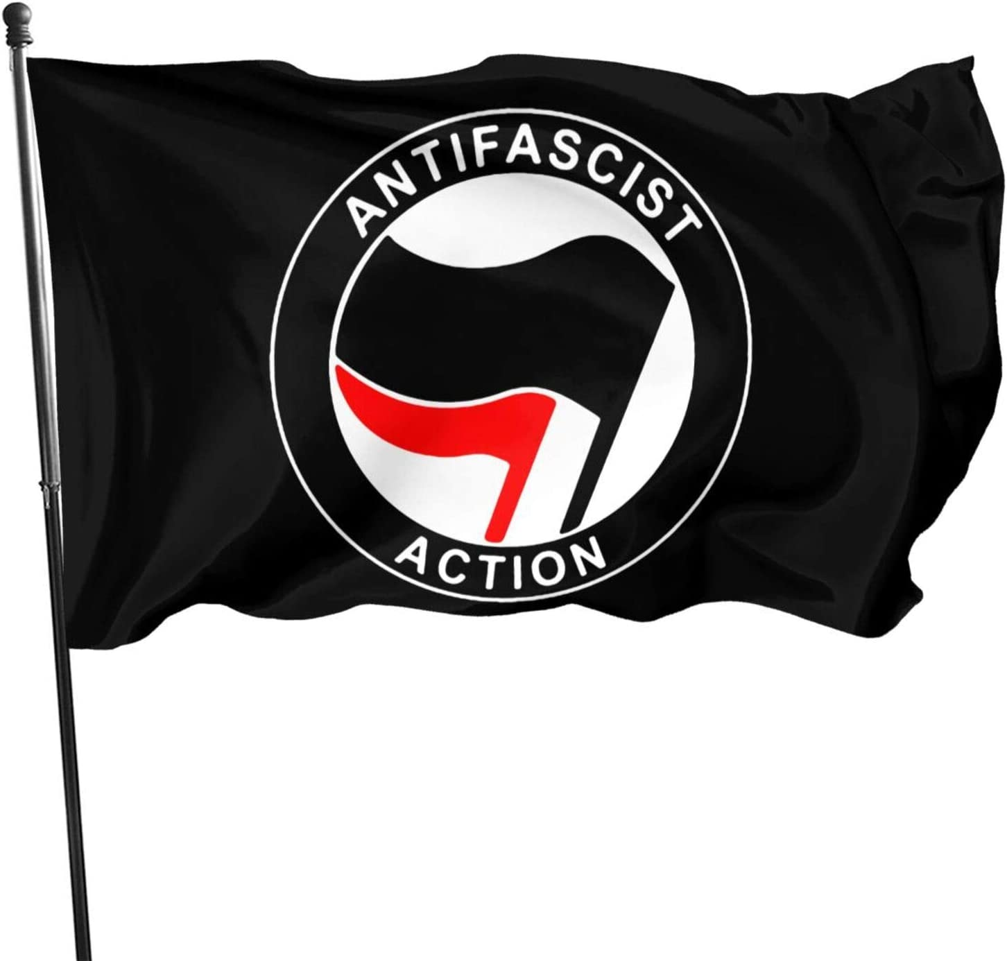 AIJEESI Anti-FA Garden Flag 3x5 FT Decorations Party Supplies, Flags for Home House Outdoor Indoor Decor (one Side Printed)