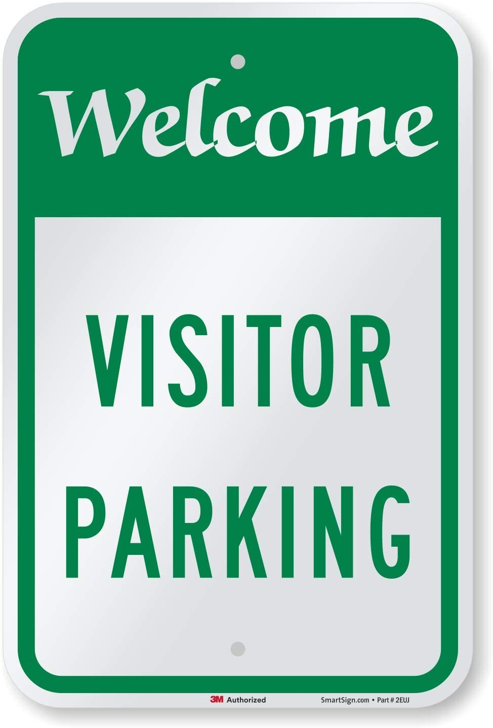 BI-DIRECTIONAL ARROW VISITORS PARKING SIGN VARIOUS SIGN /& STICKER OPTIONS
