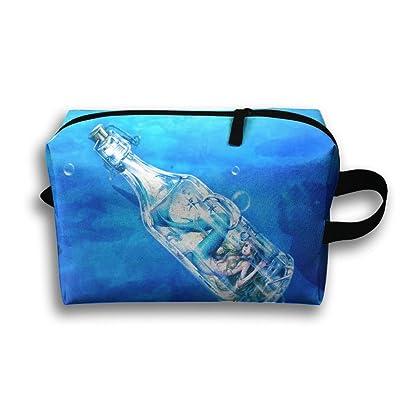a1a3825cd8fe Underwater Mermaid Wallpaper Unisex Fashion Travel Bag Portable Toiletry Bag  Organizer Storage on sale