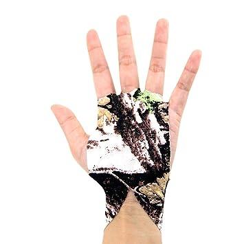 Bolsa Fitness 1 Par Cinta y Esparadrapo Deportivo en el Pulgar Dominadas Power Beast Protector Dedo Calistenia Vendas Halterofilia Gimnasio Crossfit Funda sustituta del Tape Pesas